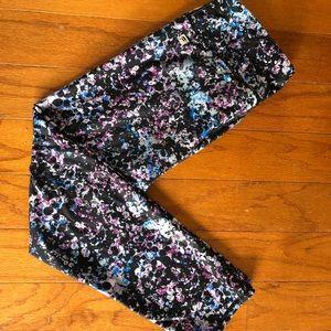 2 pairs Fabletics Capri workout pants - small